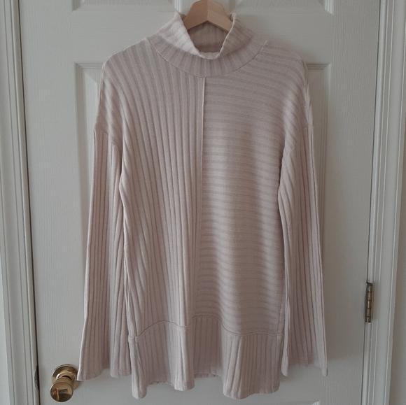 Saturday Sunday Kate Ribbed Tunic Top Size Medium